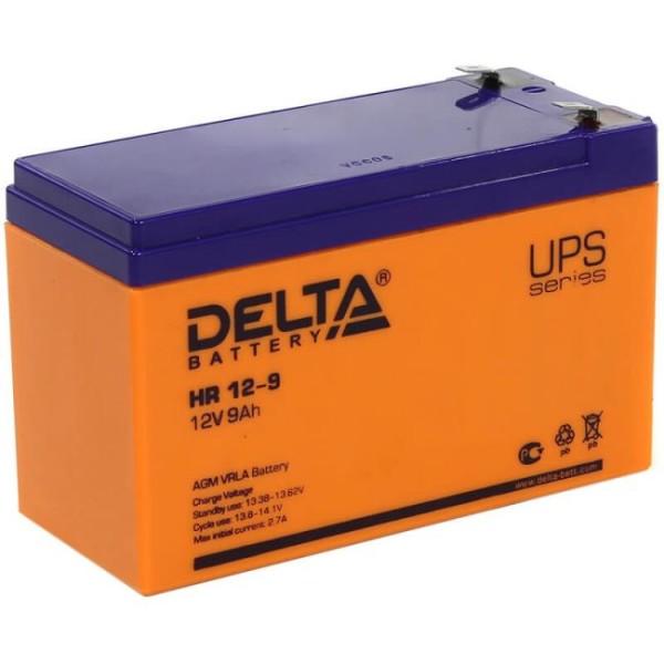 Аккумулятор Delta 12V 9Ah HR 12-9 / HR 12-9 L