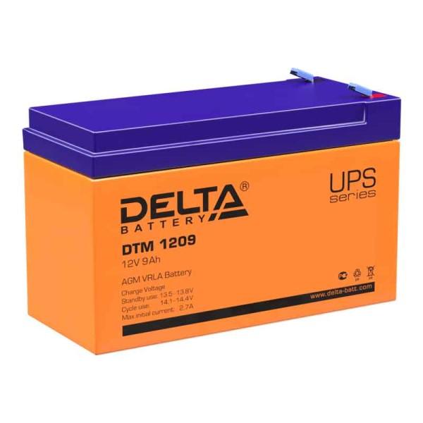 Аккумулятор Delta 12V 9Ah DTM 1209