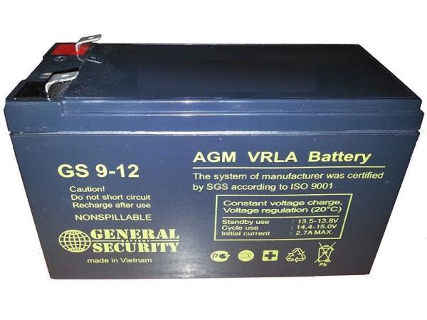 Аккумулятор General Security 12V 9Ah GSL9-12