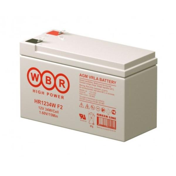 Аккумулятор WBR 12V 9Ah HR1234W