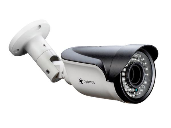 Цилиндрическая IP-видеокамера Optimus IP-E015.0(2.8-12)P с ИК-подсветкой до 40 м