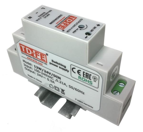 Блок питания импульсный Faraday 12W/24V/DIN