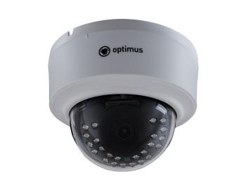 Купольная IP-видеокамера Optimus IP-E022.1(3.6)P_V.2 с ИК-подсветкой до 30 м