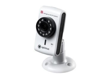 Компактная IP-видеокамера Optimus IP-H061.0W(2.8) 1Мп с ИК подсветкой 10м