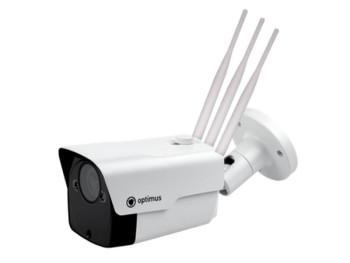 Цилиндрическая IPвидеокамера Optimus IP-P012.1(2.7-13.5)DWG_v.2 , 2Мп с ИК подсветкой 50м