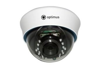 Купольная IP-видеокамера Optimus IP-P022.1(3.6) 2 Мп с ИК подсветкой 15м