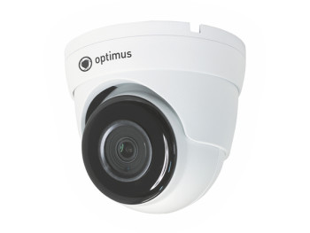 Купольная IP-видеокамера Optimus P-P042.1(2.8)MD_v.1, 2 Мп с ИК подстветкой 40м