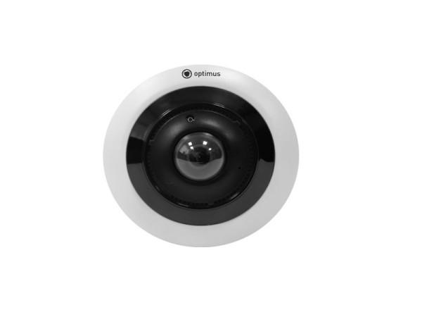 Уличная купольная IP-видеокамера Optimus IP-P115.0(1.1)EM с POE