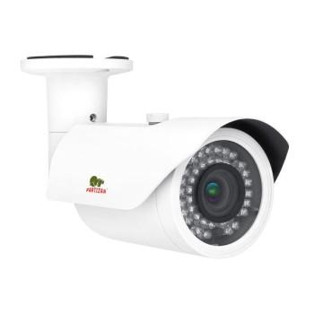 Цилиндрическая IP-видеокамера Partizan IPO-VF2MP POE v2.0 с ИК подстветкой 40м