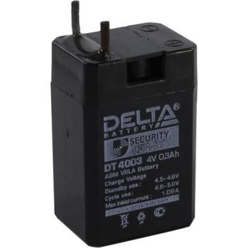 Аккумулятор Delta 4V 0,3Ah DT 4003