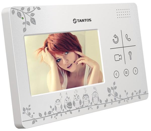 Монитор видеодомофона Tantos LILU LE (Совы)