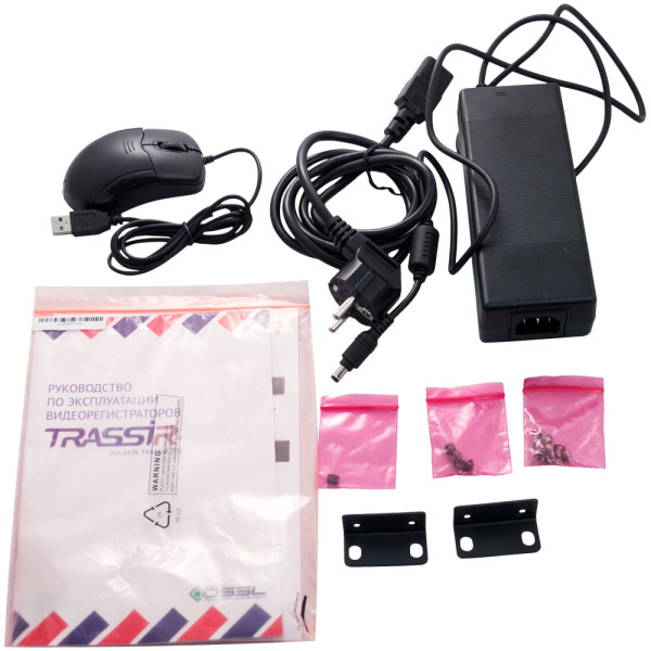 32-канальный IP-видеорегистратор TRASSIR MiniNVR AF 32 с лицензиями на подключение камер