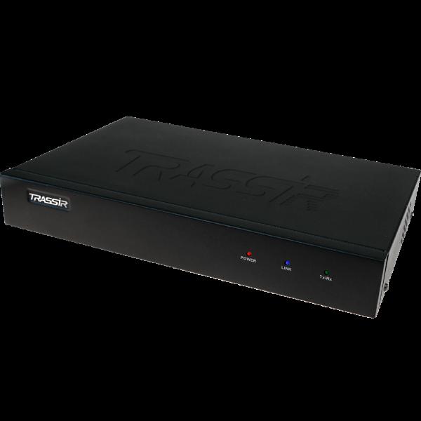 Сетевой видеорегистратор TRASSIR MiniNVR Compact AnyIP 9, лицензии в комплекте