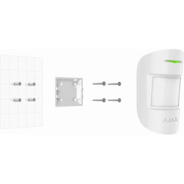 Беспроводной датчик движения Ajax MotionProtect Plus white