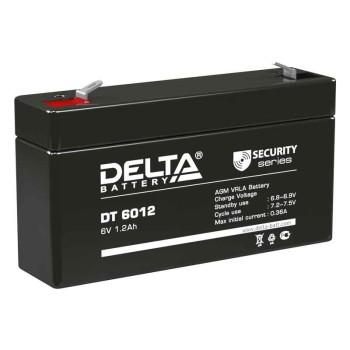Аккумулятор Delta 6V 1,2Ah DT 6012