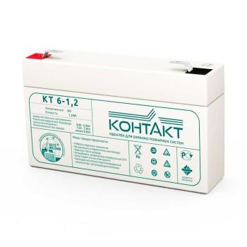 Аккумулятор Контакт 6V 1,2Ah КТ 6-1,2