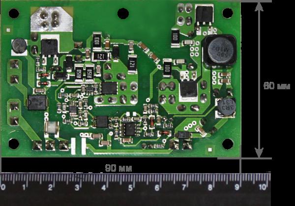 Преобразователь напряжения Бастион PN-(20-75)DC/12DC-1,0G