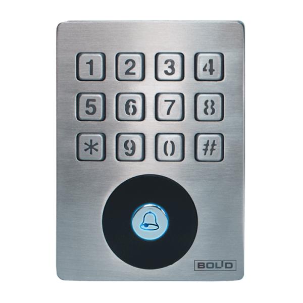 Автономный контроллер со встроенным считывателем и клавиатурой Болид Proxy-KeyAH