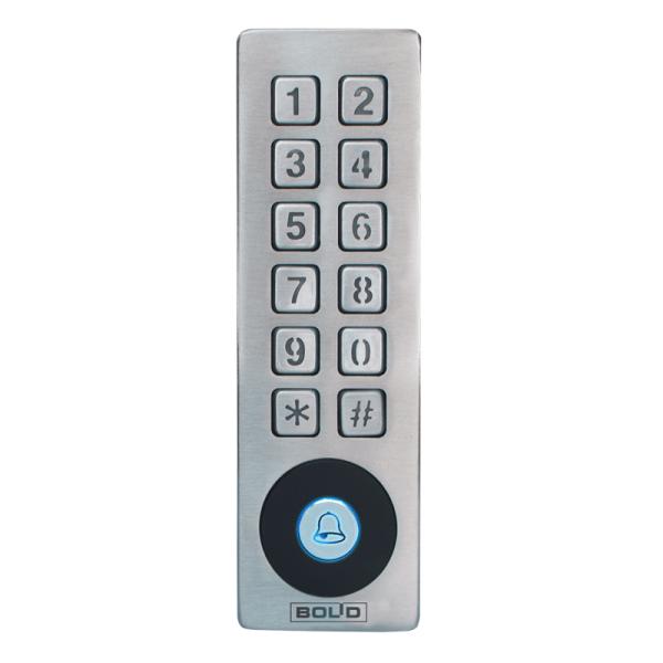 Автономный контроллер со встроенным считывателем и клавиатурой Болид Proxy-KeyMV