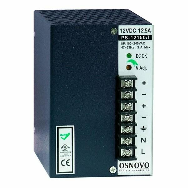Блок питания промышленный Osnovo PS-12150/I