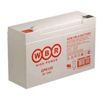 Аккумулятор WBR 6V 12Ah GP6120