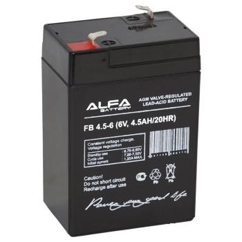 Аккумулятор ALFA Battery 6V 4.5Ah FB 4,5-6
