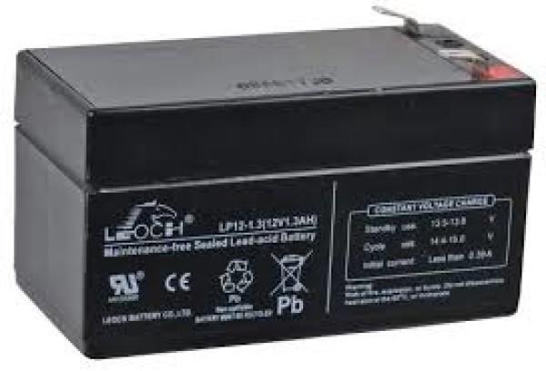 Аккумулятор Leoch 12V 1,3Ah DJW 12-1,3 (гарантия 12 мес)