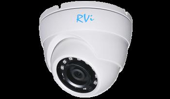 Купольная IP-видекоамера RVi-1NCE2020(2,8мм) 2Mп с ИК-подсветкой 30 м