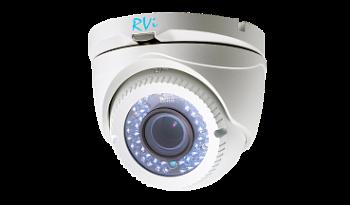 Купольная HDTVI-видеокамера RVi-HDC321VB-T (2.8-12 мм) 2Мп с ИК подстветкой 40м