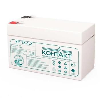 Аккумулятор Контакт 12V 1.2Ah КТ 12-1,2