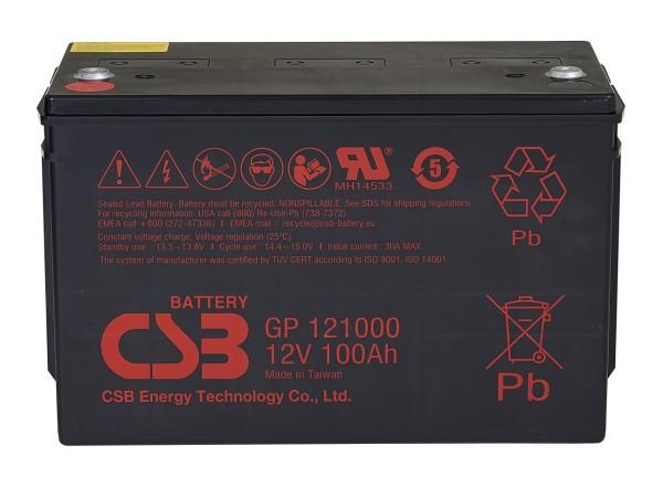Аккумулятор CSB 12V 100Ah GP121000