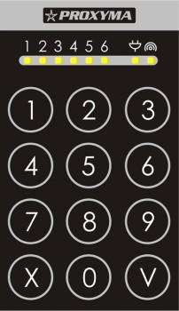 Клавиатура PROXYMA TK-306-B