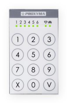Клавиатура PROXYMA TK-306-W