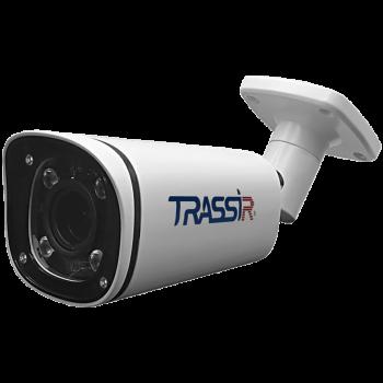 Цилиндрическая IP-видеокамера Trassir TR-D2123IR6 v4 с ИК-подсветкой до 60м