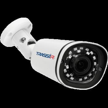 Цилиндрическая IP-видеокамера Trassir TR-D2181IR3 с ИК-подсветкой до 35м