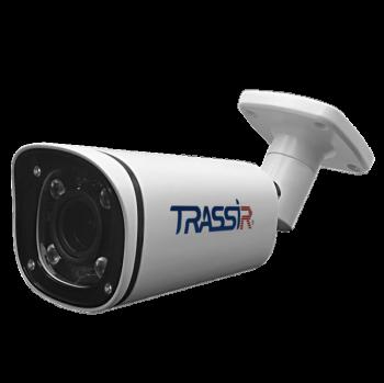 Цилиндрическая IP-видеокамера Trassir TR-D2183IR6 ИК-подсветкой до 60 м