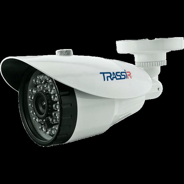 Миниатюрная цилиндрическая IP-видеокамера Trassir TR-D2B5 с ИК-подсветкой до 30м