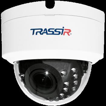 Купольная IP-видеокамера Trassir TR-D2D2 с ИК-подсветкой до 25м