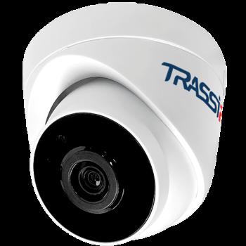 Миниатюрная купольная IP-камера Trassir TR-D2S1-noPOE 3.6 с ИК-подсветкой до 20м