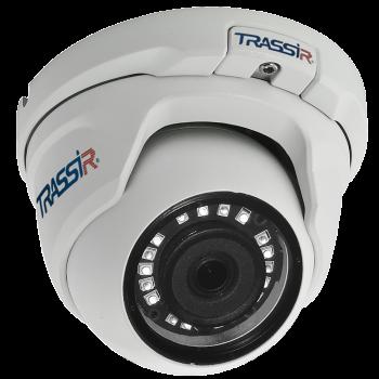 Миниатюрная купольная IP-видеокамера Trassir TR-D2S5 2.8 с ИК-подсветкой до 25м