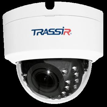 Купольная IP-видеокамера Trassir TR-D3123IR2 v4 с ИК-подсветкой до 25м