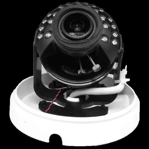 Купольная IP-видеокамера Trassir TR-D3123WDIR2 с ИК-подсветкой до 25м