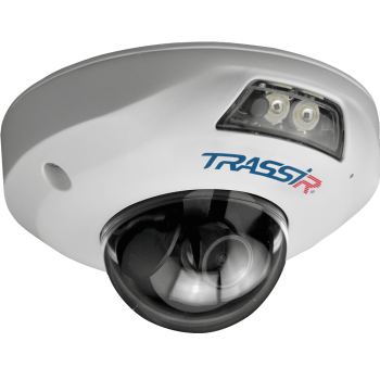 Купольная IP-видеокамера Trassir TR-D4141IR1 3.6 с ИК-подсветкой до 15м