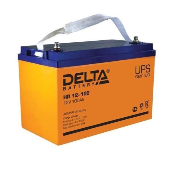 Аккумулятор Delta 12V 100Ah HR 12-100 / HR 12-100 L