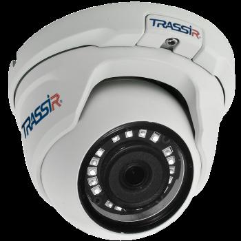 Купольная IP-видеокамера Trassir TR-D8121IR2 v4 2.8 с ИК-подсветкой до 20м