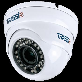 Купольная IP-видеокамера Trassir TR-D8123ZIR3 с ИК-подсветкой до 30м