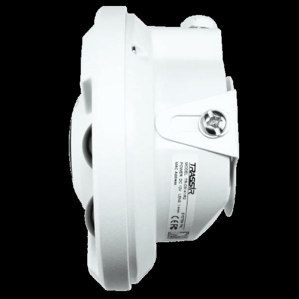 Панорамная IP-видеокамера Trassir TR-D9161IR2 с FishEye объективом и ИК-подсветкой до 20м