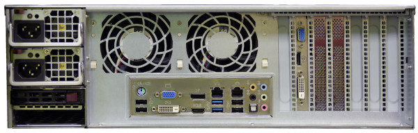 Сетевой видеорегистратор TRASSIR UltraStation 16/4 с 16 HDD на 4 Тбайт