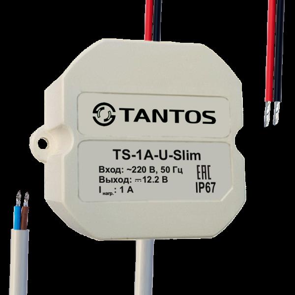 Источник вторичного электропитания Tantos TS-1A-U-Slim