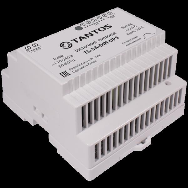 Источник стабилизированного питания резервированный Tantos TS-3A-DIN-UPS